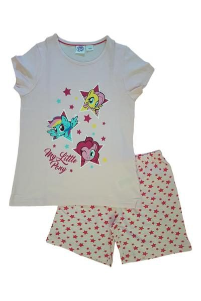 Short sleeves and shorts pyjamas with My Little Pony print