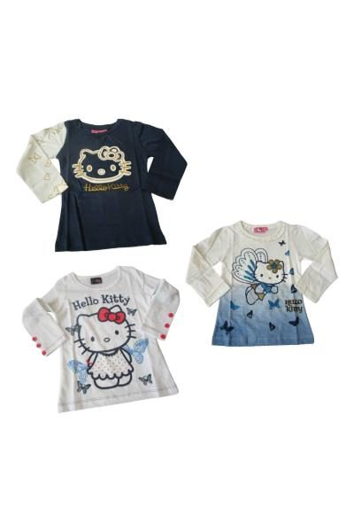 wholesale girls hello kitty tshirt