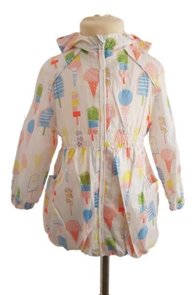 genuine fashionablestyle classic fit Baby / Girls Ice Cream Summer Raincoat